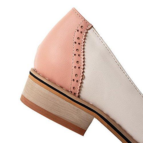 Rose balamasa couleurs tirer Pompes pour sur Chaussures bas assorties talons zrpz7q1w