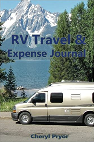 rv travel expense journal track your daily expenses journal