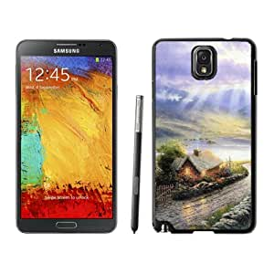 Popular And Durable Designed Case For Samsung Galaxy Note 3 N900A N900V N900P N900T With Hand Painted Small Mountain Village Phone Case