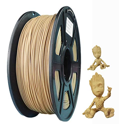 3D Printer Filament PLA 1.75MM 1KG Roll Spool Silk Gold Silver Wood For Creality