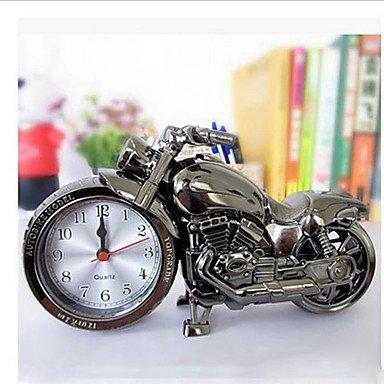 YROAR Reloj de mesa de cuarzo con alarma y cronómetro, color negro ...