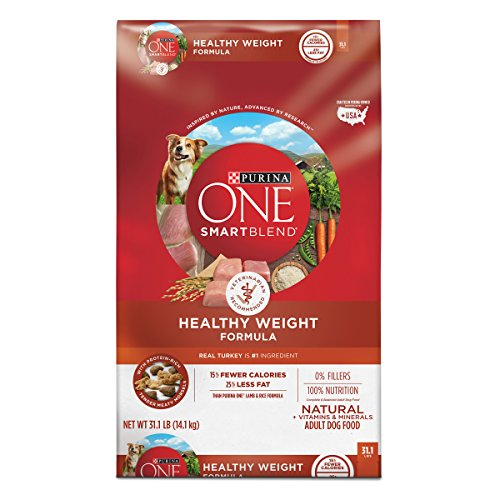 Purina ONE Weight Management, Natural Dry Dog Food; SmartBlend Healthy Weight Formula - 31.1 lb. Bag
