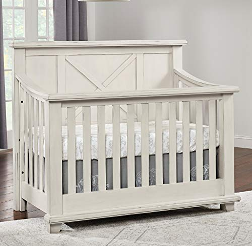 Lexington Daybed - Oxford Baby 18011440 Lexington 4 in 1 Convertible Crib 58.25 x 34.25 x 50 Heirloom White