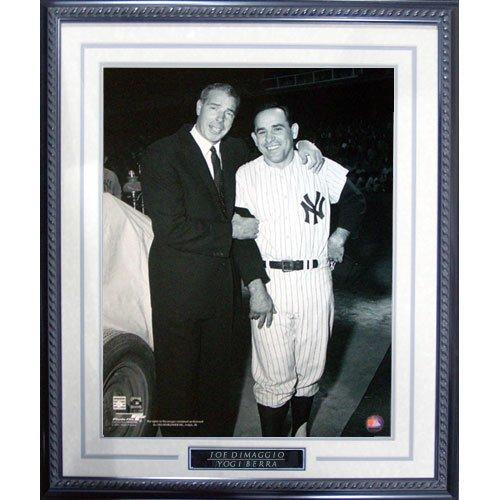 - Yogi Berra Joe DiMaggio Pose Framed 16x20 Photograph