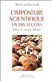 L'Imposture scientifique en dix leçons