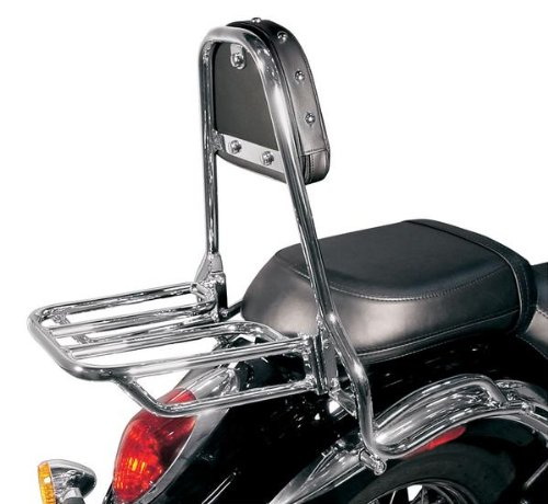 MC Enterprises Rear Tour Cruiser Rack for 2006-2009 Kawasaki VN900 Vulcan 900 Enterprises Rear Tour Cruiser Rack