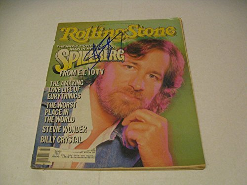 Steven Spielberg Autographed Rolling Stone Magazine