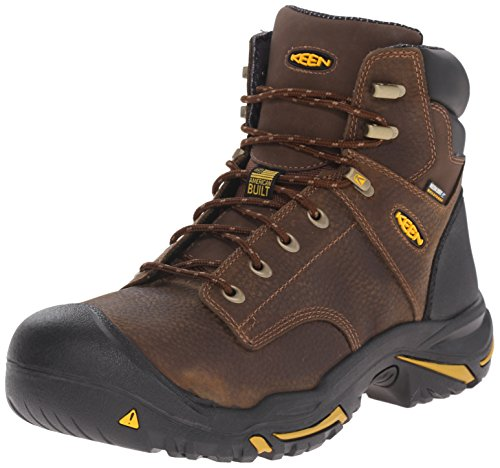 MT US Brown 8 Mens Boot Utility EE Work Soft Vernon 6 Inch Toe Cascade Keen a6E5WPP