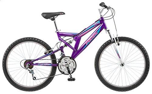 Girl's 24 Shire Full Suspension Mountain Bike