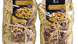 Specially Selected Imported Italian Capunti Artisan Pasta with Tomato, Olive & Caper Puttanesca Seasoning (2 x 18.7 oz packages)