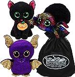 Ty Beanie Boos Count, Leggz & Potion Set Bundle with Bonus Matty's Toy Stop Storage Bag - 3 Pack