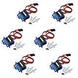 SODIAL(R) 6 Pcs New SG-90 SG90 9g Micro Servos For Car Helicopter Plane Boat