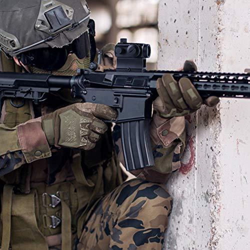 OTW Red Dot Sight,1x20mm 4 MOA Red Green Dot Sight Micro Rifle Scope