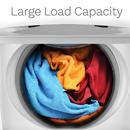 hOmeLabs 0.9 Cu. Ft. Portable Washing Machine - 6 Pound Capacity, Top Loading, 5 Wash Cycles, 3 Water Level Selections and LED Display - Perfect for Apartments, RVs and Small Space Living
