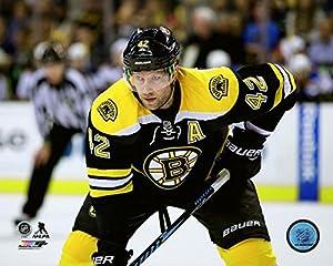 "David Backes Boston Bruins NHL Action Photo (Size: 8"" x 10"")"