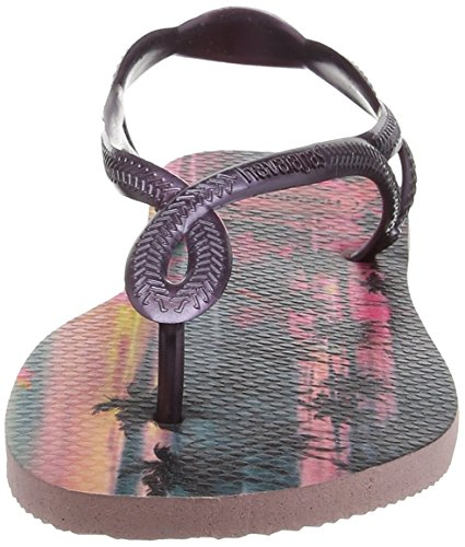 Havaianas Luna Print, Sandalias Mujer Multicolor (Pearl Pink 6615)