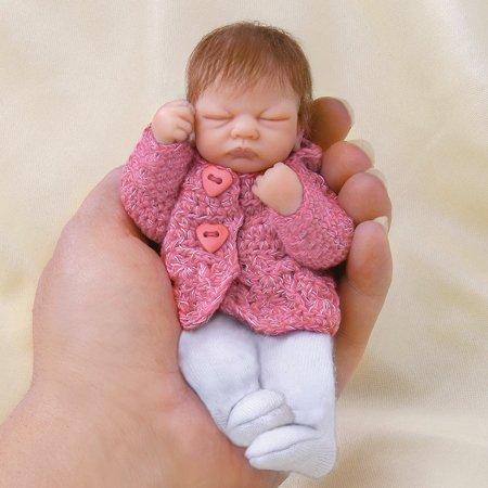 Ashton Drake Doll Welcome Baby Em (red jacket) - by Artist Linda Webb