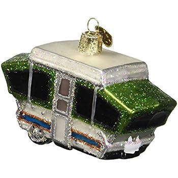 Amazon.com: Pop Up Camper Christmas Tree Ornament: Home ...