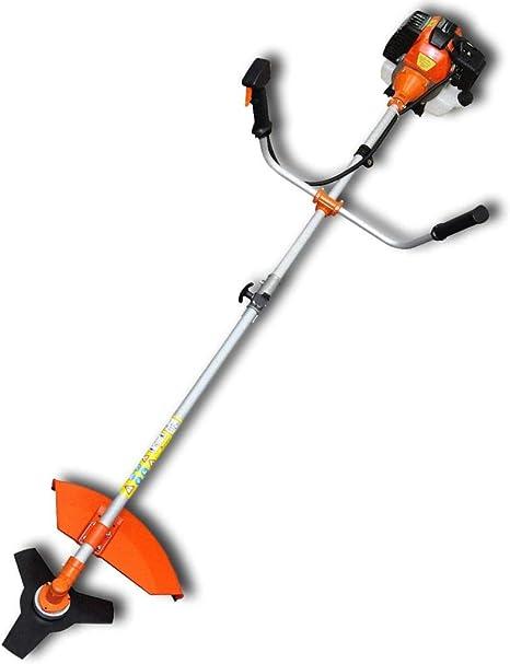 Vislone Desbrozadora Cortadora de Césped 52 CC de Motor de 2 Tiempos Naranja 2,2 kW: Amazon.es: Hogar