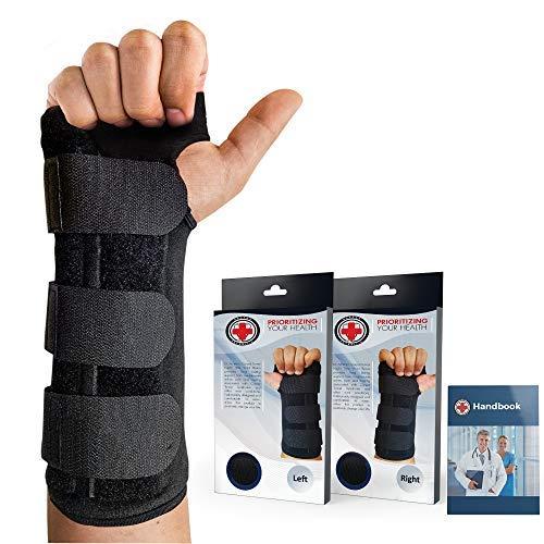 Doctor Developed Carpal Tunnel Wrist Brace Night & Wrist Support &