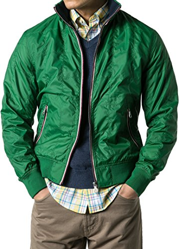 Gant Herren Jacke Jack Mikrofaser modisches Langarmoberteil Unifarben, Größe:  XXL, Farbe: Grün