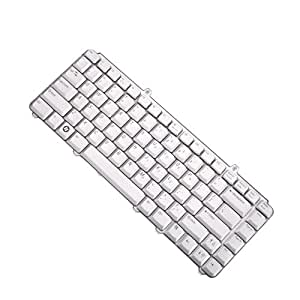 NEW Silver US Laptop Keyboard for Dell Inspiron 1420 1520 1521 1525 1526 NK750 Notebook