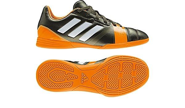 Adidas Nitrocharge 3.0 - Zapatillas Deportivas de Fútbol para Niños - Verde oscuro/Naranja, sintético, 5.0 GB - 38.0 EU: Amazon.es: Deportes y aire libre