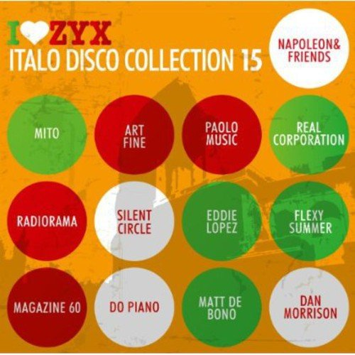 ZYX Italo Disco 15 (Germany - Import, 3PC)