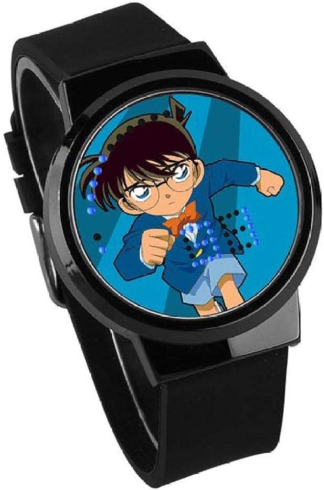 Orologi da polso Regalo Per Studenti Condotto Detective Anime Conan Touch Screen Watch Orologio Uomo E Donna A