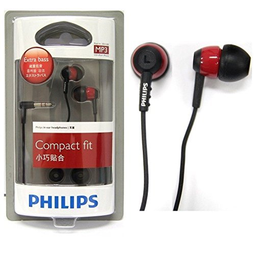 Philips she7000br In-ear Black/Red