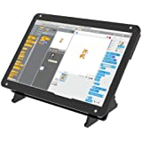 Portable Monitor with Acrylic Case 7 inch Screen - IPS Capacitive Display 1024x600 - Compatible with Raspberry Pi 4…