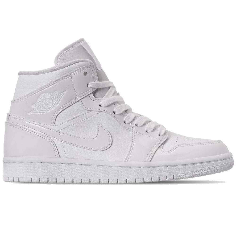 quality design 62ea6 b87b1 Amazon.com | Nike Womens Air Jordan 1 Mid Womens Bq6472-100 ...