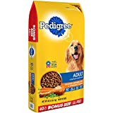 PEDIGREE Adult Complete Nutrition Roasted Chicken, Rice & Vegetable Flavor Dry Dog Food 40 Pounds