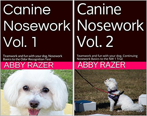 Canine Nosework (2 Book Series)
