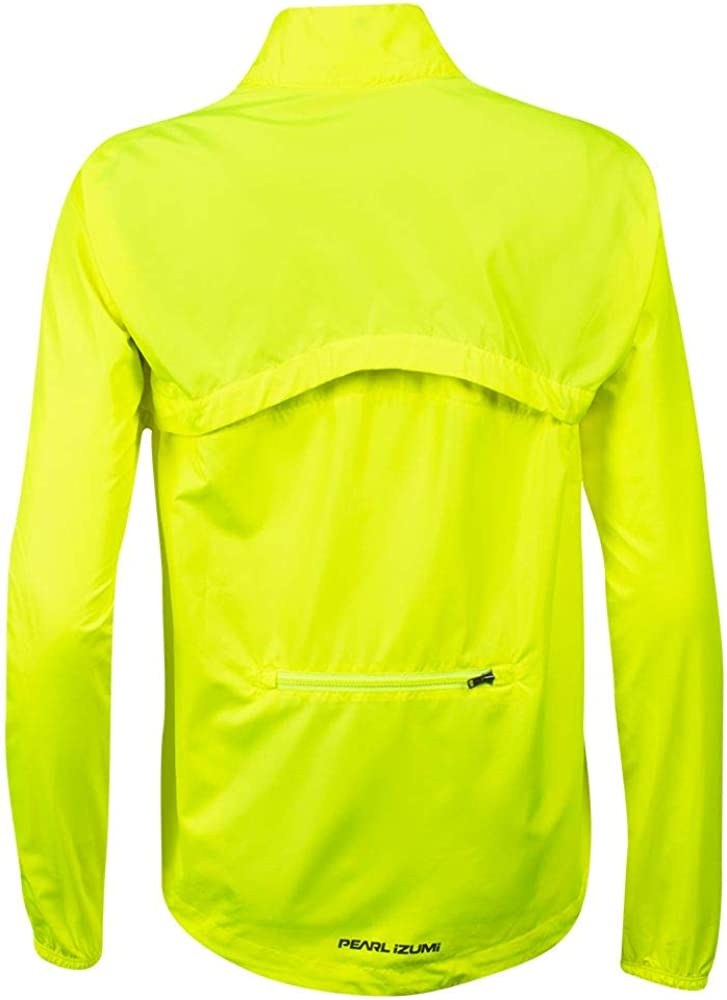 S Screaming Yellow//Turbulence PEARL IZUMI Womens Quest Barrier Convertible Jacket