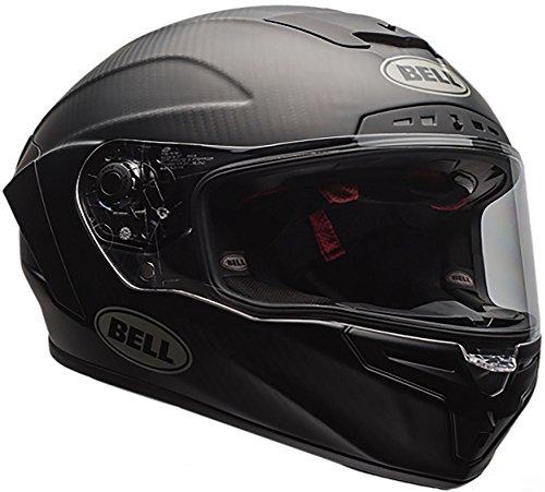 Bell Race Star Full-Face Motorcycle Helmet (Solid Matte Black, Medium)