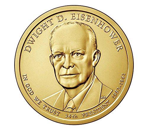 - 2015 D Presidential Dwight Eisenhower Dollar Choice Uncirculated