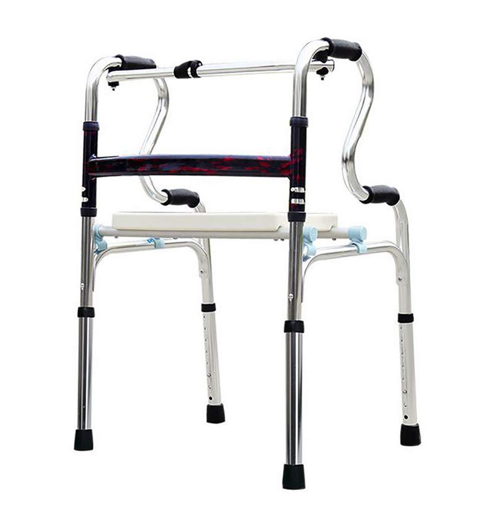D&F Andador Ancianos Plegable,Ligero de Aluminio Caminante ...