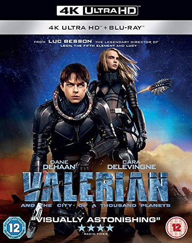 Valerian and The City of A Thousand Planets [Blu-ray] [2017]