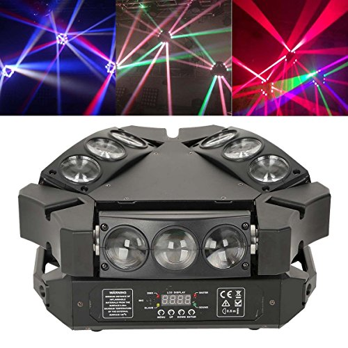 Tengchang 9X3W RGB 3in1 LED Stage Moving Head Light DMX Bar KTV DJ Disco Lighting