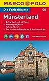 MARCO POLO Freizeitkarte Münsterland 1:110.000