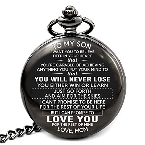 memory gift shop To My Son - Love Mom Never forget that i love you, Gift for Son from Mom (Best Birthday Message For Son)