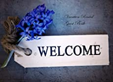 Welcome your visitors with this Guest Book to help preserve their fondest memories.           STYLISH & ELEGANT: This is something you can be proud of when on display. A charming addition to a special event that you can look back on in f...