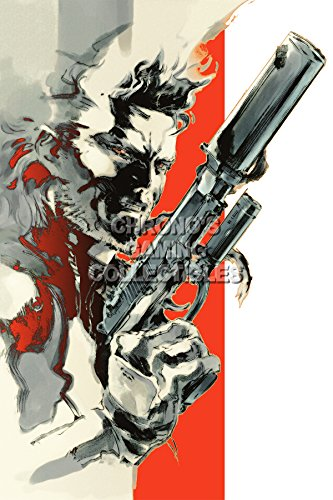 CGC Huge Poster - Metal Gear Solid 2 PS2 PS3 - MGS201 )