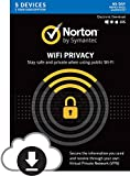 Norton WiFi Privacy VPN - Up to 5 Devices – Digital Download