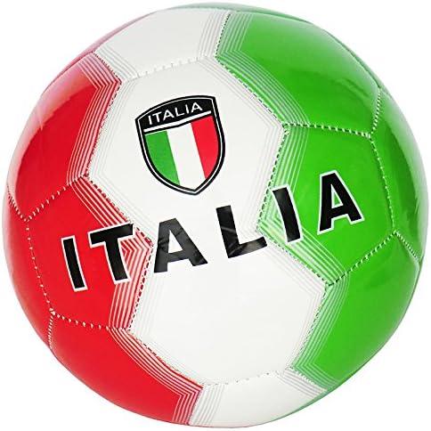 Sport Store BALÓN DE FÚTBOL Italia TAMAÑO 5 Verde, Blanco, Rojo ...