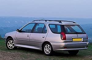 Peugeot 306 Estate inclinado 4 x 4 coche perro Jaula Caja de viaje ...