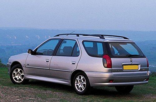 Peugeot 306 SW inclinata 4 x 4 auto cucciolo di cane gabbia viaggio gabbia avvio Guard gabbie