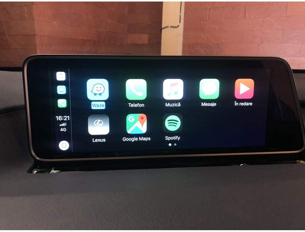 OEM Retrofit Wireless CarPlay for Lexus NX ES UX is CT RX GS LS LX LC RC 2014-2019 Car Interrface Compatible with Apple CarPlay Android Auto Support Waze Google Map Siri