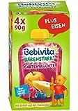 Bebivita Gartenfrüchte, 1er Pack (4 x 90 g)
